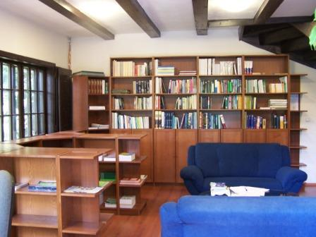 Institute of geonics - library - inside